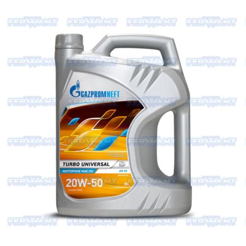 GAZPROMNEFT TURBO UNIVERZAL 20W-50 5L